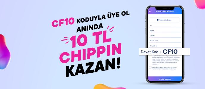 CF10 kodu ile Chippin