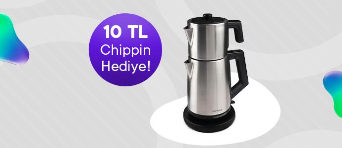 ProFlavor Çay Makinesi 795 TL yerine 350 TL, 10 TL Chippin hediye